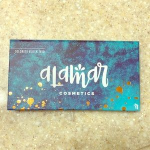 Alamar Cosmetics Colorete Blush Trio in Medium/Tan